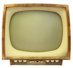 Amazing old TV set