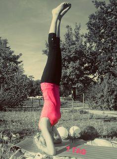 Yoga Kopfstand yoga challenge 1day