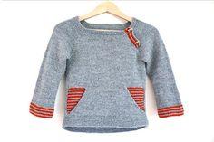 Ravelry: Colorblock pattern by Karen Borrel Baby Boy Knitting Patterns, Knitting For Kids, Baby Knitting, How To Purl Knit, Baby Kind, Color Block Sweater, Baby Sweaters, Diy Fashion, Color Blocking