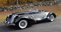 Beautiful Auburn Boattail Speedster