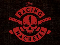 Machete Skull by Brandon Rike