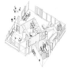 'Put-Away House' Alison and Peter Smithson ... es una puerta abierta al pensamiento.