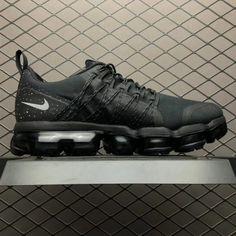 new style 43522 a3d58 Nike Air VaporMax Run Utility Black White AQ8810-001-4 Air Max Sneakers,