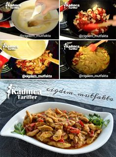 Chicken Recipe with Curry Sauce Turkish Chicken, Salsa Curry, Turkish Recipes, Ethnic Recipes, Best Dinner Recipes, How To Eat Less, Family Meals, Iftar, Food To Make