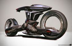 Check out this sketch of a pilotless bike design by Mike Hill! Hill is a freelance concept designer based in Berlin, Germany. Mike is co-founder and art director at KARAKTER Design Studio. Futuristic Motorcycle, Motorcycle Style, Concept Art World, Concept Cars, Design Web, Design Transport, Mike Hill, Bike Sketch, Motorbike Design