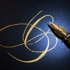 """O"" de oro #mbcaligrafia"