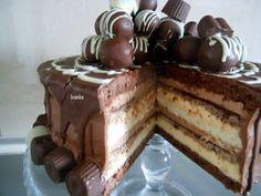 Torte i kolači Ivanka: Jednostavno čoko torta Cupcake Recipes, Baking Recipes, Cookie Recipes, Cupcake Cakes, Cupcakes, Torte Recepti, Kolaci I Torte, Russian Cakes, Torte Cake