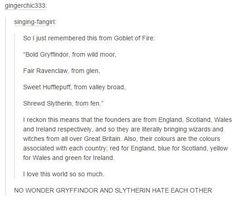 Gryffindor and Slytherin Love-Hate Relationship