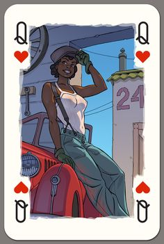 Black Women Art!: Photo Queen of hearts