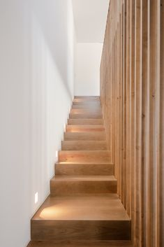 Image 16 of 32 from gallery of Maia House / Raulino Silva Arquitecto. Photograph by João Morgado Three Floor, Main Entrance, Dining Area, Facade, Stairs, House, Gallery, Building, Home Decor