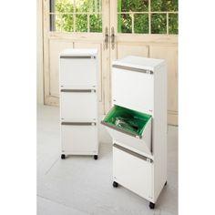 3段分別ゴミ箱 dinos