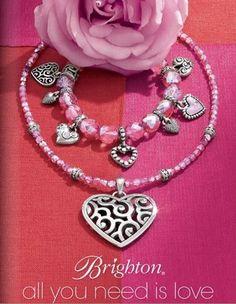 pink heart jewelry