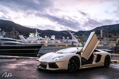 Lamborghini Aventador LP700-4 in Monaco
