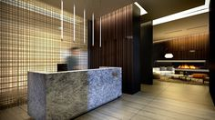 The Eglinton by Menkes Developments - Concierge Desk & Lobby
