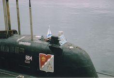 Russian submarine Daniil Moskovsky (K-414)