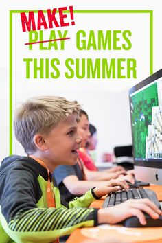 Premier summer camps & online programs for ages Courses for kids & teens held at prestigious campuses. Summer Camps For Kids, Camping With Kids, Summer Fun, Summer Ideas, Science For Kids, Games For Kids, Lego, Video Game Development, Coding For Kids
