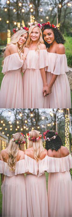 bridesmaid dresses,bridesmaid dress,long bridesmaid dress,pink bridesmaid dress