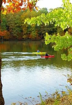 Kayaking in the Fall