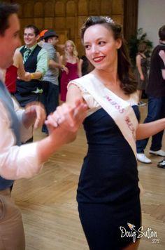 Miss Heartland dancing at LAFLX