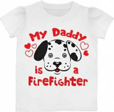 Kiditude - Daddy Is A Firefighter Toddler T Shirt $14.95 Read more: http://www.kiditude.com/catalog/funny-toddler-t-shirts/daddy-is-a-firefighter-toddler-t-shirt-912.html