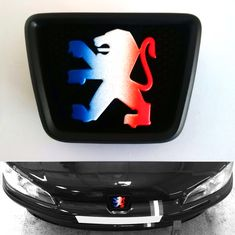Other pictures show this style badge for the 206 and Only fits no other models. Peugeot 106, Plastic Trim, Vinyl Doors, Car Mods, Hub Caps, Racing Team, Volkswagen, Badge, Flag