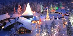 Traveling to Santa Claus Village, Lapland: Christmas Traditions in Finland Christmas Holiday Destinations, Christmas In Europe, Cosy Christmas, Christmas Time Is Here, Very Merry Christmas, Christmas Traditions, Christmas Lights, Christmas Holidays, Christmas Scenery