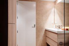 baño con mueble ikea Alcove, Bathtub, Bathroom, Ikea Furniture, Scandinavian Design, Interiors, Standing Bath, Washroom, Bath Tub