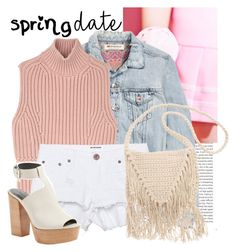 """""""Spring Date!!!!"""" by sweet-fashionista ❤ liked on Polyvore featuring Oris, H&M, Diesel Black Gold, One Teaspoon, Rebecca Minkoff, Billabong, springdate and spring2016"""