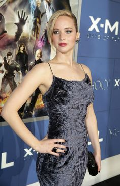 Hot And Sexy Stills Of Actress Jennifer Lawrence at X-Men Days Of Future Past Premiere in NY - Cinebuzz Jennifer Lawrence X Men, Mtv, Happy Birthday Jennifer, Jannifer Lawrence, Kentucky, Men's Day, Best Actress, Girl Crushes, American Actress