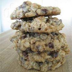 Cookies de chocolate e aveia @ allrecipes.com.br