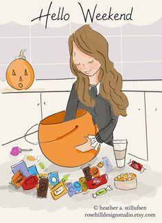 Hello Halloween Weekend!!