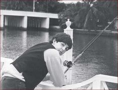 The Beatles First US Visit: Paul McCartney fishing in Miami, Florida - 1964 Fabulous Four, The Fab Four, Coachella, Selena Gomez, The Beatles, Liverpool, My Love Paul Mccartney, Bug Boy, Sir Paul