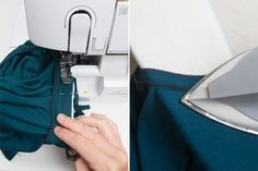 Sew bindings to tank and press up.   Vallynne Tank
