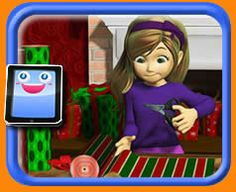 Wrapping Gifts - 25 Piece Online jigsaw puzzle for kids