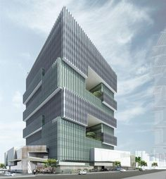 Corporate Office Tower Brisbane - Naveen Dath, Cottee Parker Architects
