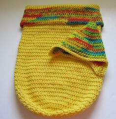 Baby Bunting, Pixie Hat, Cocoon, Yellow, Newborn Baby Gift, Swaddling,Sleepsack, Papoose, Newborn,Photo Prop,Crochet, Infant Blanket Sleeper by RealMcCoyCrochet on Etsy