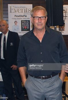 Actor Kevin Costner attends a signing for his new book 'The Explorers Guild: Volume One: A Passage To Shambhala' at Barnes & Noble at The Grove on October 27, 2015 in Los Angeles, California.