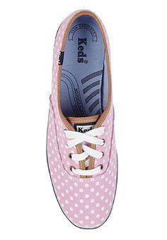KEDS Womens Champion CVO Polka Dot pink/white