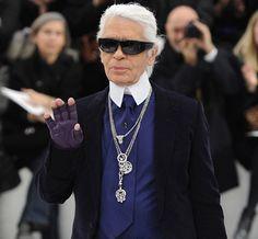 """""""Calça de moletom é sinal de derrota"""" e mais frases de efeito de Lagerfeld"""