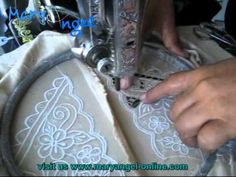Traditional Cutwork by Mary Angel - Bali - Vintage Sewing Machine Embroidery
