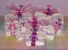 Diaper Butterflies