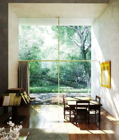 Image 19 of 48 from gallery of AD Classics: AD Classics: Casa Barragan / Luis Barragan. Photograph by Casa Luis Barragan Home Interior, Interior Architecture, Interior And Exterior, Interior Design, Architecture Diagrams, Architecture Portfolio, Interior Modern, Interior Paint, Kitchen Interior