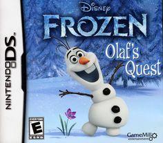 Disney Frozen: Olaf's Quest - Nintendo DS, Multi, 834656090111