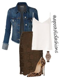 """""""Apostolic Fashions #1868"""" by apostolicfashions on Polyvore featuring N°21, L'Agence and Michael Kors"""