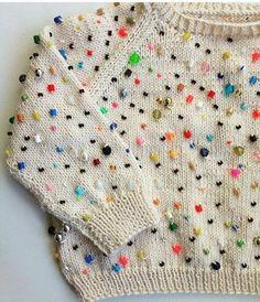 Sweater con cuentas by Araceli Pourcel
