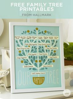 Easy ways to decorate your nursery or make a special gift for a friend with these free printables from Hallmark.