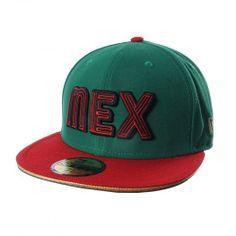 """Apoya a México con el modelo exclusivo 5950 que New Era trae para ti. Con sus colores llamativos y un diseño moderno con la leyenda """"MEX"""" al frente, la gorra 5950 México de New Era mostrará tu orgullo por el equipo."""