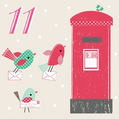 Advent Calendar Day 11 - Amy Underhill