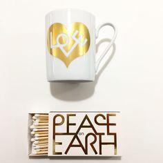 #love and #peaceonearth #peaceandlove #tasse #mug #streichhölzer #geschenkidee #vitra #design by #alexandergirard @girardstudio