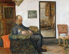Pierre Bonnard (French, 1867-1947) - Portrait of Ambroise Vollard, 1904/1905